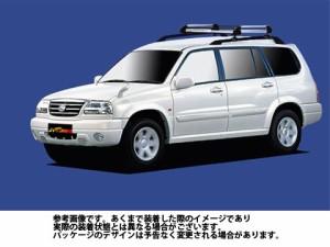 ルーフキャリア タフレック HR22 スズキ SUZUKI グランドエスクード / TX92W アルミ素材 TUFREQ 精興工業