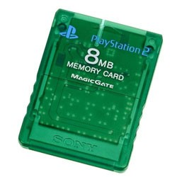 【新品★送料無料メール便】PS2周辺機器 PlayStation 2専用メモリーカード (8MB)エメラルド (輸入版)