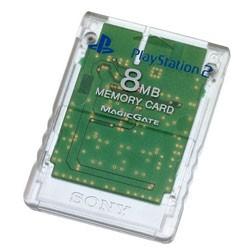 【新品★送料無料メール便】PS2周辺機器 PlayStation 2専用メモリーカード (8MB)クリスタル (輸入版)