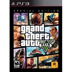 【新品★送料無料メール便】PS3ソフト輸入版 Grand Theft Auto V Special Edition (輸入版) (限定版) (CERO区分_Z相当)