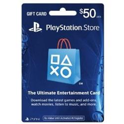 【新品★送料無料メール便】PS3 PS4 PSP VITA周辺機器 Playstation store gift card $50 (北米版)