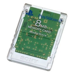 【新品】PS2周辺機器 PlayStation 2専用メモリーカード (8MB)クリスタル (輸入版)
