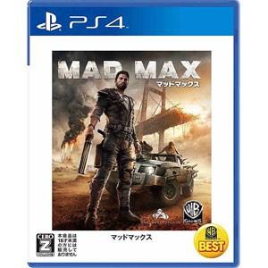 【新品】PS4ソフト WARNER THE BEST マッドマックス  (CERO区分_Z)   (セ