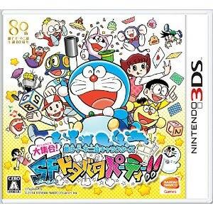 【+5月22日発送★新品】3DSソフト 藤子F不二雄キャラクターズ 大集合!SFドタバタパーティー!!