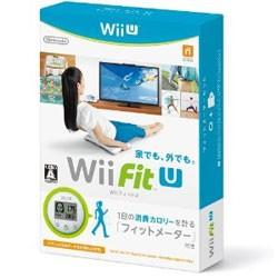 棚卸しの為★3月2日発送★新品】WiiUソフト Wii Fit U フィットメーター (ミドリ)セット
