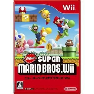 【4月18日発送★新品★送料無料メール便】Wiiソフト ニュースーパーマリオブラザーズWii