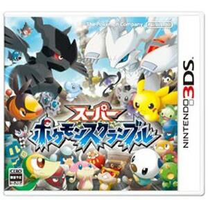 【5月9日発送★新品★送料無料メール便】3DSソフト スーパーポケモンスクランブル