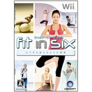 【新品★送料無料メール便】Wiiソフト フィット・イン・シックス カラダを鍛える6つの要素