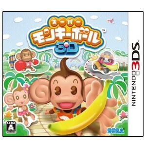 【3月6日発送★新品★送料無料メール便】3DSソフトスーパーモンキーボール3D (セ