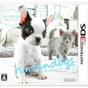 【数量限定特価★3月30日発送★新品★送料無料メール便】3DSソフトnintendogs + cats フレンチ・ブル & Newフレンズ