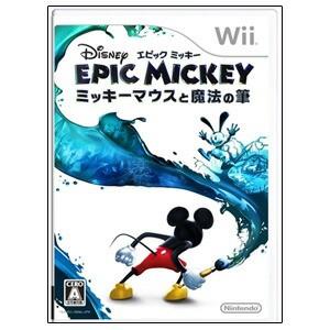 【新品★送料無料メール便】Wiiソフト ディズニー エピックミッキー ~ミッキーマウスと魔法の筆~