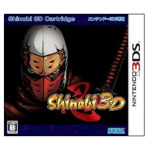 【新品】3DSソフト Shinobi 3D (セ