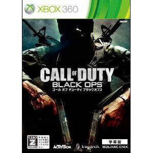 【3月6日発送★新品★送料無料メール便】Xbox360ソフトコールオブデューティ ブラックオプス 字幕版 廉価版