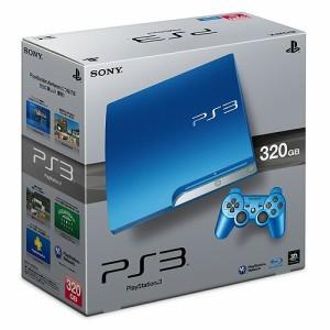 【送料無料★新品★キャンセル不可】PlayStation 3 (320GB)スプラッシュ・ブルー CECH-3000BSB/本体,スプラッシュブルー,限定,HDD,320GB