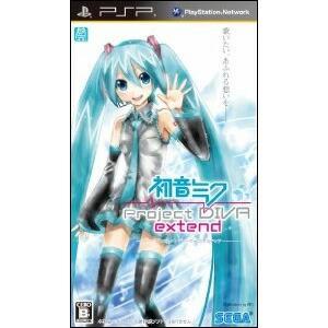 【3月3日発送★新品★送料無料メール便★】PSPソフト初音ミク -Project DIVA- extend (セ