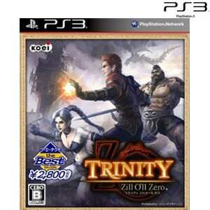 【3月30日発送★新品★送料無料メール便】PS3ソフト コーエーテクモ the Best TRINITY Zill O'll Zero BLJM-60435 (k メーカー生産終了商
