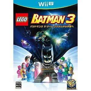 【+1月9日発送★新品★送料無料メール便】WiiUソフト LEGO (R) バットマン3 ザ・ゲーム ゴッサムから宇宙へ (セ任