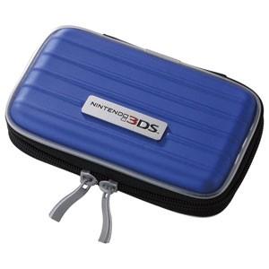 【新品★送料無料】3DS周辺機器 LOAS ニンテンドー3DS用EVAケース ブルー SZC-3DS01BL