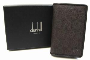 ダンヒル 6連キーケース ウィンザー L2N750B ブラウン レザー 新品 未使用 メンズ キーホルダー 茶系 dunhill