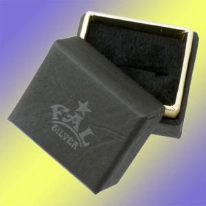 FAL エフ.エー.エル シルバー ピアス メンズ レディース パープルローズ 1個売り片耳用 FA-PE-0004