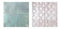 日本製 シャワーカーテン ディスク 180×120cm【防水カーテン カビがはえにくい 半透明 おしゃれ オシャレ 間仕切り】