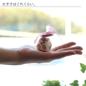 入浴剤「ミニバスボール」ローズの香り(ピンク)[02889]【バスボム バスフィズ 可愛い キュート ローズ バラ ばら】
