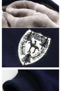 セットアップ メンズ【送料無料】長袖 スウェットセットアップ 裏起毛 ボア ジップパーカー スエット 上下 パンツ 上下セット