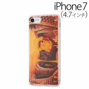 ☆ ディズニー iPhone7 専用 スマホTPUケース 背面パネルセット くまのプーさん6 IJ-DP7TP/PO006[レビューを書いてメール便送料無料]