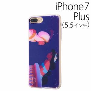 ☆ ディズニー iPhone7 Plus 専用 スマホTPUケース 背面パネルセット アラジン10 IJ-DP7PTP/AL010[レビューを書いてメール便送料無料]