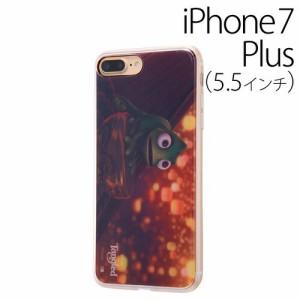 ☆ ディズニー iPhone7 Plus 専用 TPUケース 背面パネルセット ラプンツェル8 IJ-DP7PTP/RZ008[レビューを書いてメール便送料無料]