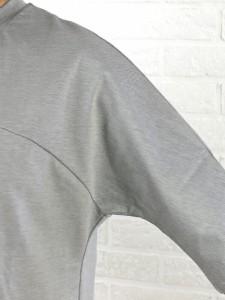 PULETTE(プレット) 綿ポリエステルクルーネック 7分袖 ミニマムドレスワンピース・PL-CS0861・2581601