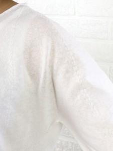 emmaculate(エマキュレイト) 綿麻混Vネックニットプルオーバー・2162K-30086・1401601