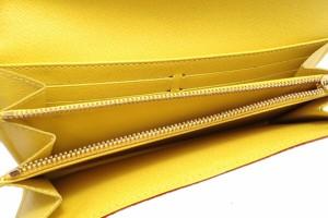 【財布】 ルイ ヴィトン モノグラムマルチカラー ポルトフォイユ サラ 2つ折ファスナー長財布 ブロン シトロン M93743