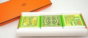 エルメス パルファムソープ 石鹸 3個セット パンプルムス ローズ  PARFUMS 2017年新作 グリーン ギフト プレゼント パフューム