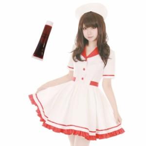【コスプレ 女医 ナース】店内50%OFF〜開催中♪ 女医 ナース 3点セット M〜2Lサイズあり costume970