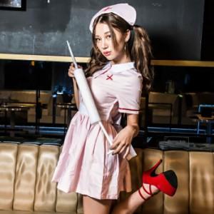 【コスプレ 女医 ナース】コスプレ ナース コスプレ衣装 ナース服 セクシー 衣装 ハロウィン コスチューム 衣装 レディース 看護婦 制服