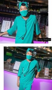 【コスプレ メンズ コスプレ】7点セット costume899 ゴスロリ♪ロリータ♪パンク♪コスプレ♪コスチューム♪メイド