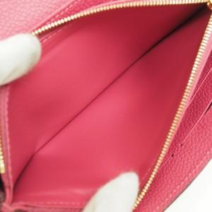 【ほぼ新品】ルイ ヴィトン ポルトフォイユ・サラ モノグラム・アンプラント M62056 レディース【長財布】【中古】