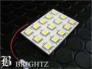 BRIGHTZ LEDルームランプ ルーム球 BA9S 舟形 室内灯 T10 ウェッジ球 バルブ 15SMD 15発 LED EL 白 ホワイト ROOM−LAMP−003