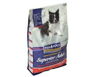 【多くの魚を使用しているペットフード】 フィッシュ4ドッグ スーペリア アダルト ドックフード 1.5kg 【犬/ドックフード/魚/無添加