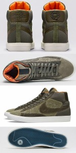 ナイキ ブレザーNIKE BLAZER HI SP スニーカーMOWAX Mo Wax x Nike