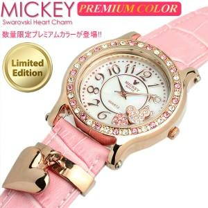 ミッキー 腕時計 ミッキーマウス レディース レディス スワロフスキー キャラクター ウォッチ ミッキー 腕時計 うでどけい  ladies 【Dis