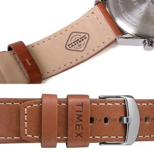 【TIMEX】 タイメックス レッドウィング Red Wing クロノグラフ ウォーターベリー 革ベルト レザー 50M防水 メンズ 腕時計 TW2P84300 MEN