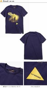 アンドワンダー and wander オウルT   Tシャツ 半袖 プリントT ふくろう フクロウ コットン 17FW