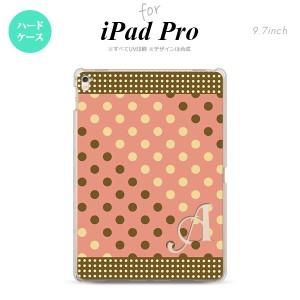 【iPad Pro】【スマホケース/スマホカバー】【アイパッド プロ】iPad Pro スマホケース カバー アイパッド プロ イニシャル ドット・水玉