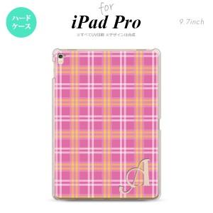 【iPad Pro】【スマホケース/スマホカバー】【アイパッド プロ】iPad Pro スマホケース カバー アイパッド プロ イニシャル チェックB ピ
