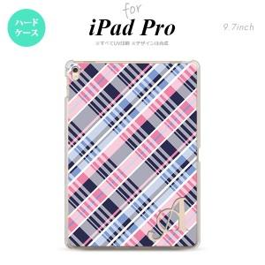 【iPad Pro】【スマホケース/スマホカバー】【アイパッド プロ】iPad Pro スマホケース カバー アイパッド プロ イニシャル チェックA ピ