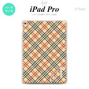 【iPad Pro】【スマホケース/スマホカバー】【アイパッド プロ】iPad Pro スマホケース カバー アイパッド プロ イニシャル チェックA ベ