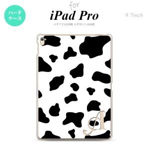 【iPad Pro】【スマホケース/スマホカバー】【アイパッド プロ】iPad Pro スマホケース カバー アイパッド プロ イニシャル 牛柄  nk-ipa