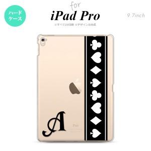 【iPad Pro】【スマホケース/スマホカバー】【アイパッド プロ】iPad Pro スマホケース カバー アイパッド プロ イニシャル トランプ(帯)